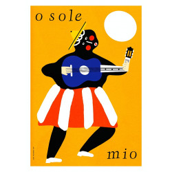 O Sole Mio, postcard by...