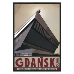 Gdańsk Oliwa, pocztówka,...
