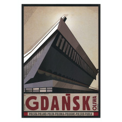 Gdańsk Oliwa, postcard by...