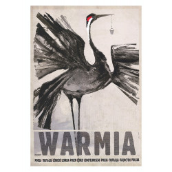 Warmia, postcard by Ryszard...
