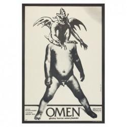 Omen, postcard by Andrzej...