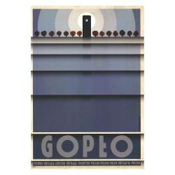 Gopło, postcard by Ryszard...