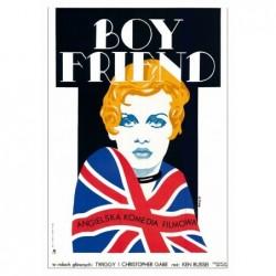 Boy Friend, pocztówka,...