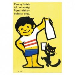 Czarny Kotek Tak Mi Wróży,...