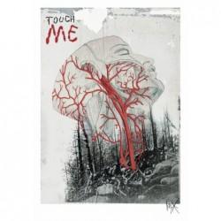 Touch Me, postcard by Jacek...