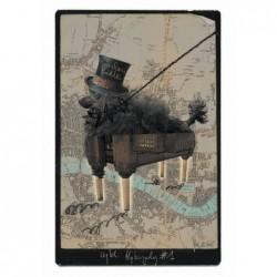 London Poodle, pocztówka,...