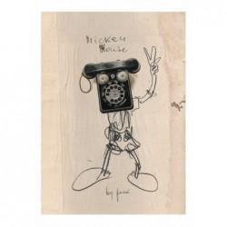 Mickey Mouse, pocztówka,...