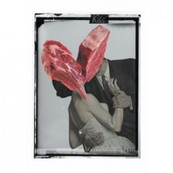 Kiss, postcard by Jacek...