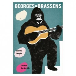Pocztówka Georges Brassens...